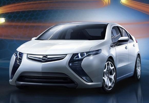 Opel Ampera Elektrische Auto Op Elektrische Nl