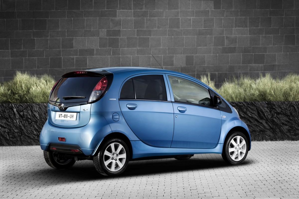 Peugeot Ion Elektrische Auto Op Elektrische Nl