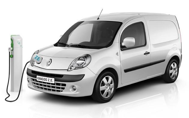 Renault Kangoo Z E Elektrische Auto Op Elektrische Nl