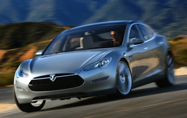 Tesla Model S Elektrische Auto Op Elektrische Nl