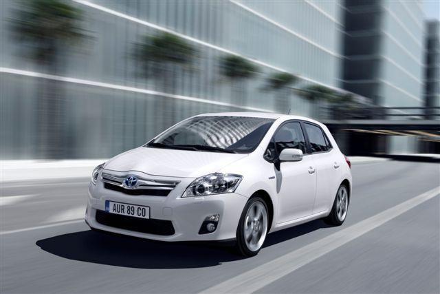 Toyota Auris Full Hybrid Elektrische Auto Op Elektrische Nl