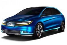 Denza toont nieuwe elektrische auto